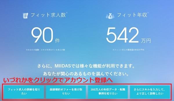 MIIDAS会員登録9